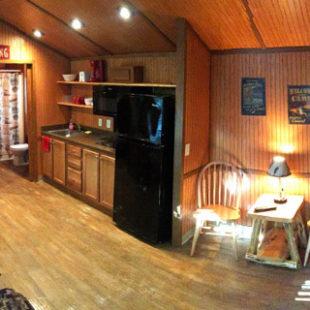 full view of deluxe cabin on Delaware River Indian Head Canoeing Rafting Kayaking Tubing Delaware River